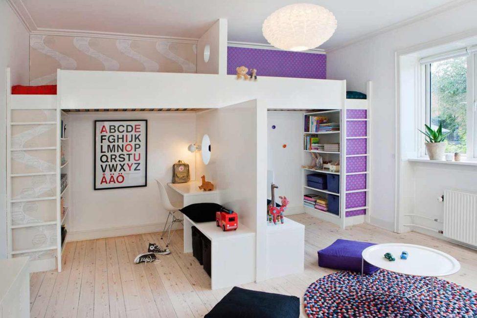 Ruang persendirian serta kawasan bermain