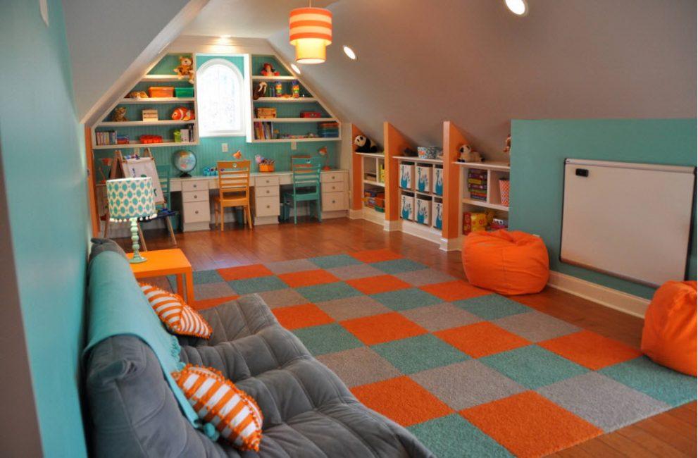 Bir genç için harika bir oda