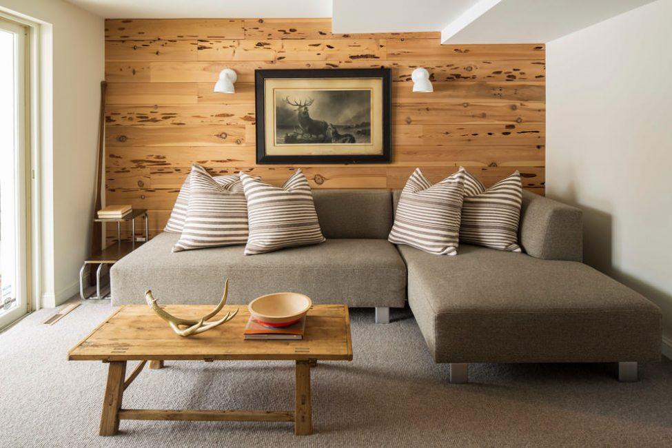 Kayu - bahan serba boleh untuk mewujudkan suasana khas di dalam rumah