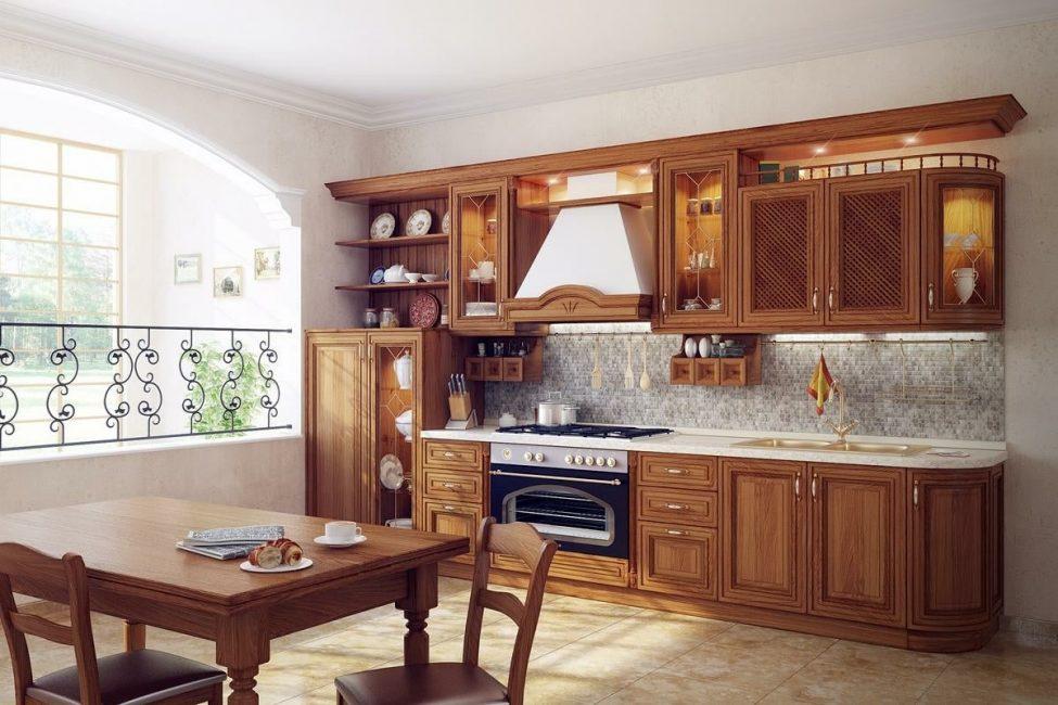 Padanan warna yang betul adalah keperluan dapur anda.