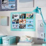 Bagaimana untuk menggantung gambar di dinding adalah cantik dan asli (170+ Foto)? Idea kreatif untuk aksen yang terang