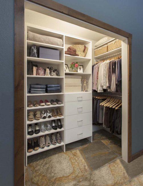 Kruşçev'de giyinme odası