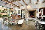 All'interno di una casa di campagna, in stile country semplice e dai molti lati. Oltre 200 foto di design naturale e semplicità