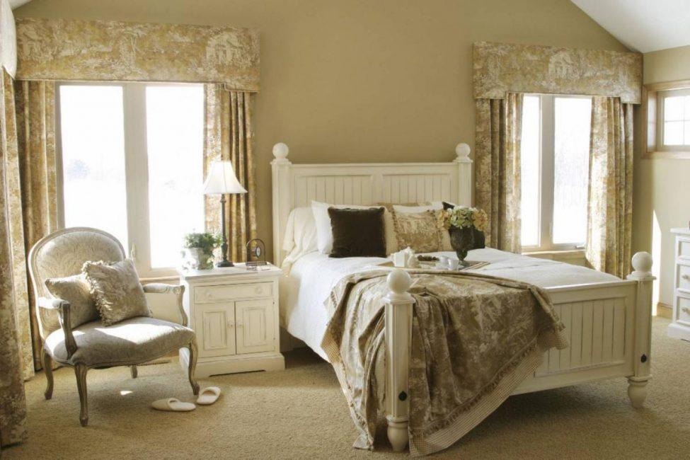 C'est toujours agréable de se réveiller dans une telle chambre.