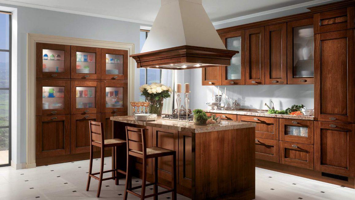 Dapur yang kelihatan kukuh