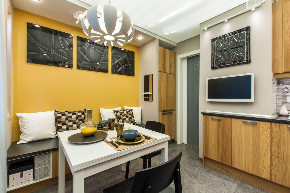Το χρωματικό σχέδιο του δωματίου καθορίζει την αίσθηση του.