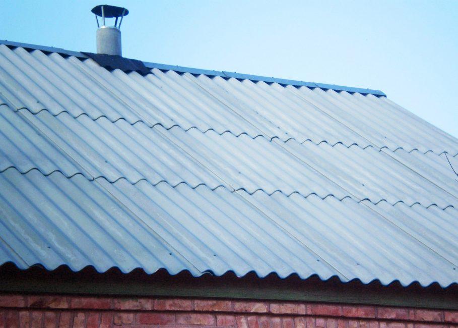 Slate - bahan bumbung yang paling murah