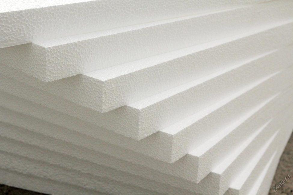 Polyfoam digunakan sangat kerap dalam penebat dinding