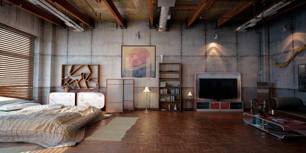 ABD'de ilk çatı katı dairesi 50'lerde ortaya çıktı.