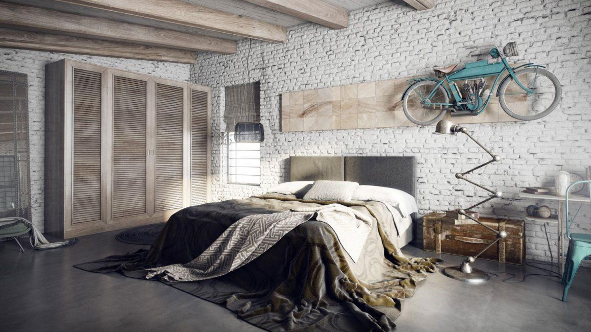 Yatak odası evin en konforlu yeridir.