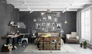 Loft tarzı daire içi: 215+ Kendini ifade için sınırsız alan fotoğrafları tasarlayın
