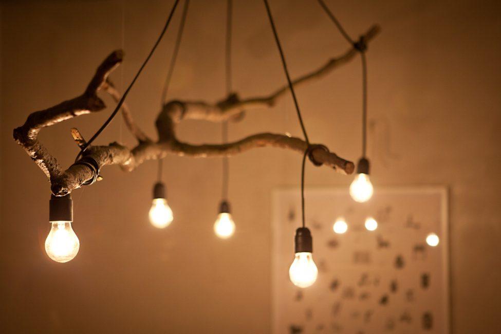 Cara mudah namun sangat bergaya untuk mencipta lampu