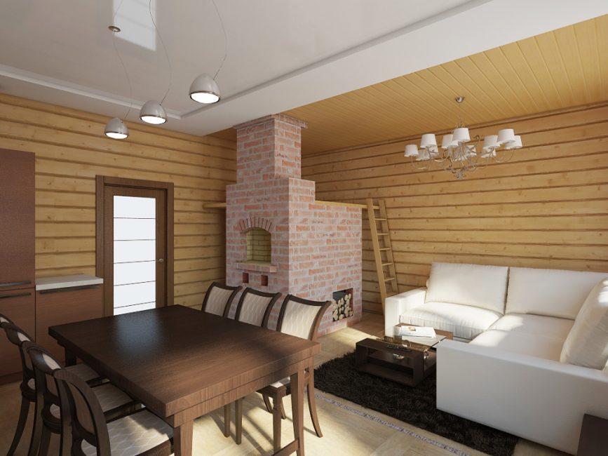 Reka bentuk dapur ketat selaras dengan perabot mahal