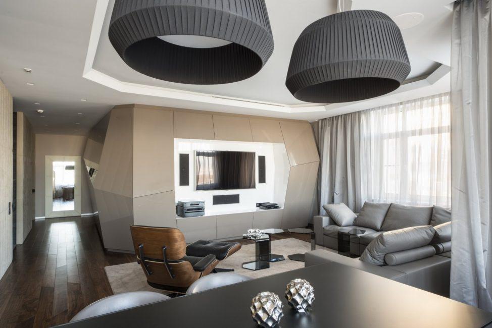 Perabot dalam gaya futurisme