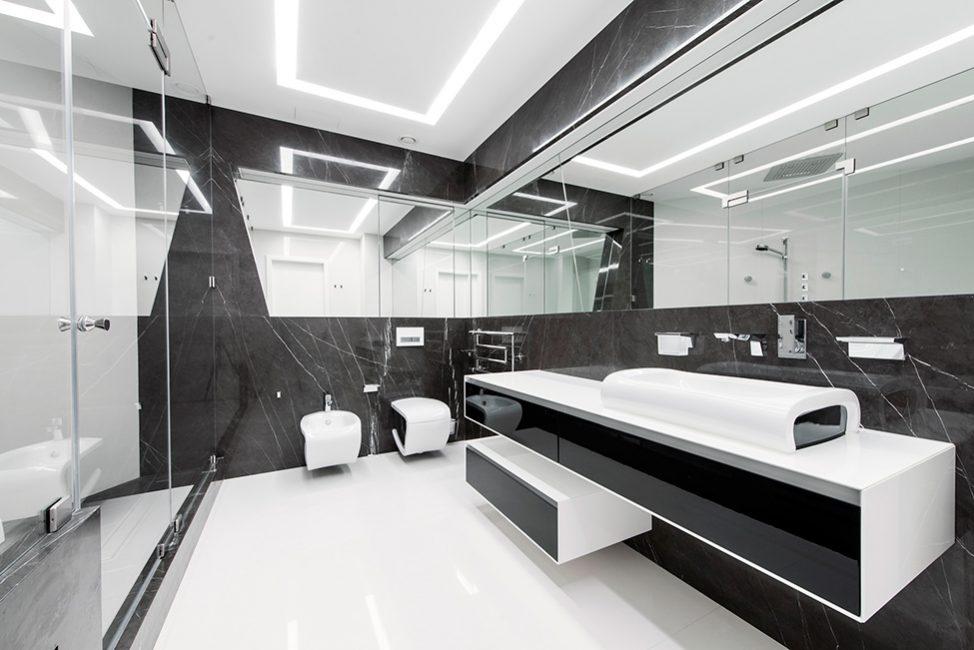 Bilik mandi bergaya