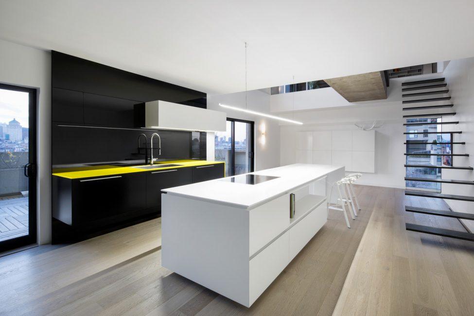 Design moderno della cucina