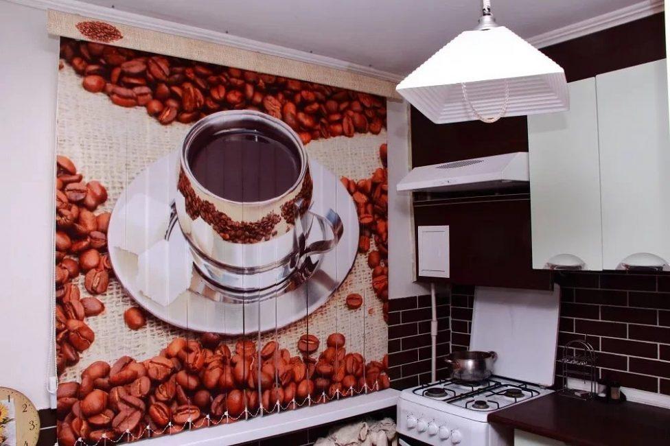 Reka bentuk luar biasa tetingkap dapur