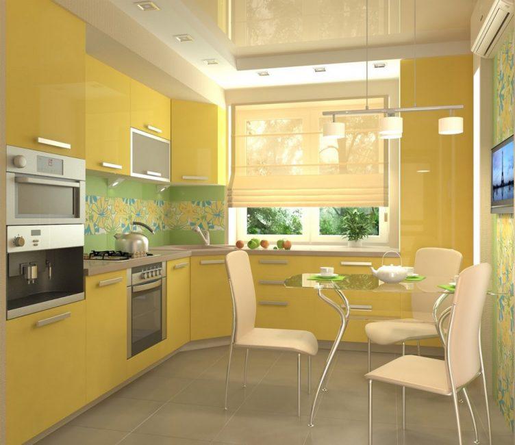 Colore giallo - corroborante