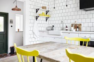 Interni con acidità: + 135 foto della cucina in giallo.Iniziamo la mattina vigorosamente e soleggiato