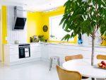 Intérieur avec acidité: + 135 photos de la cuisine en jaune. Nous commençons la matinée vigoureusement et ensoleillée