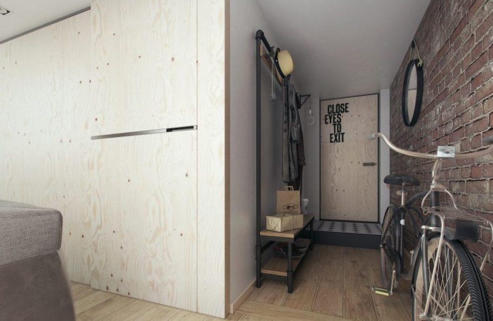 Büyük mobilyalara koridorda yerleştirmeyin.