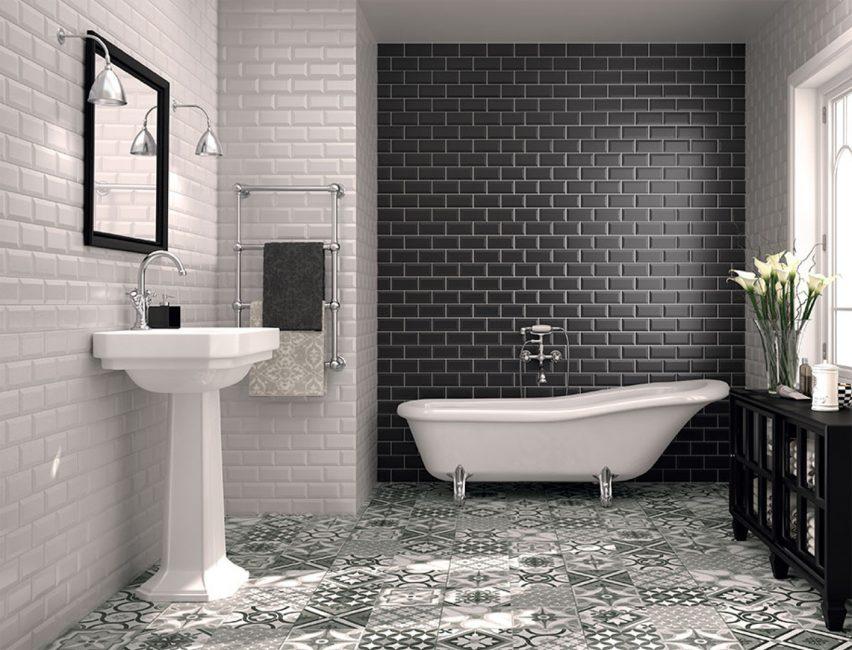 Dalam reka bentuk bilik mandi