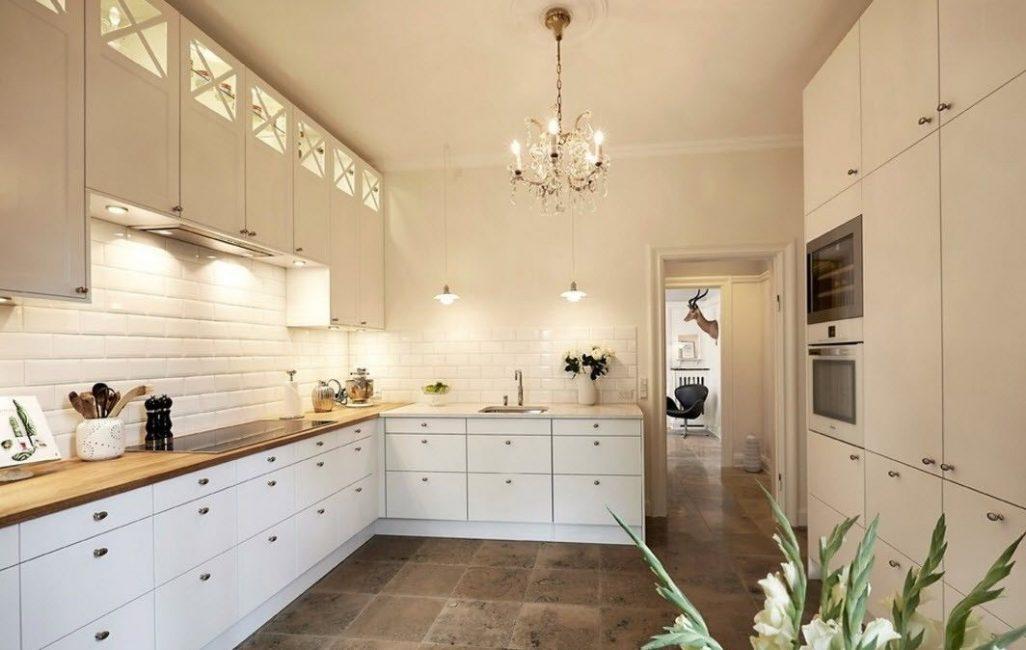 Piastrelle Bianche 300 Foto In Cucina Bagno Corridoio Interno