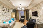 Kertas dinding kuning air di pedalaman - 175+ (Foto) Gabungan Kombinasi (di dapur, ruang tamu, bilik tidur)
