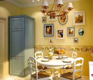 Bagaimana untuk menggantung gambar-gambar yang betul di pedalaman dapur - 205+ (Foto) Idea Bergaya dan Cantik