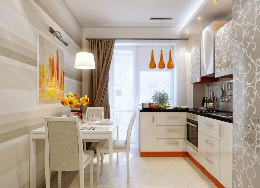 Gambar memberikan anda peluang untuk menambah warna dan menghiasi dapur