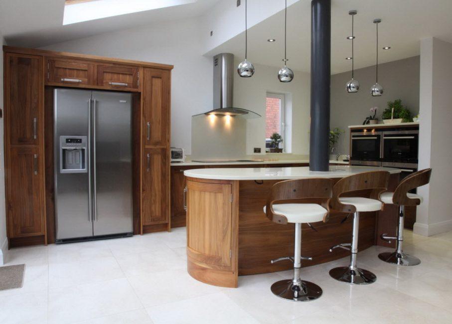 حل جيد للغاية للمطبخ وغرفة الطعام.