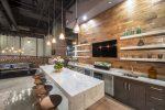 Dapur gaya mewah bergaya bandar - 255+ (Foto) Suasana industri