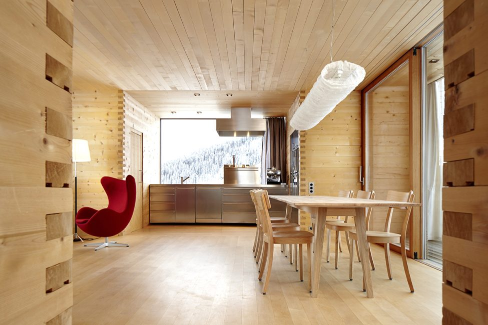 Gunakan panel dinding kayu biasa.