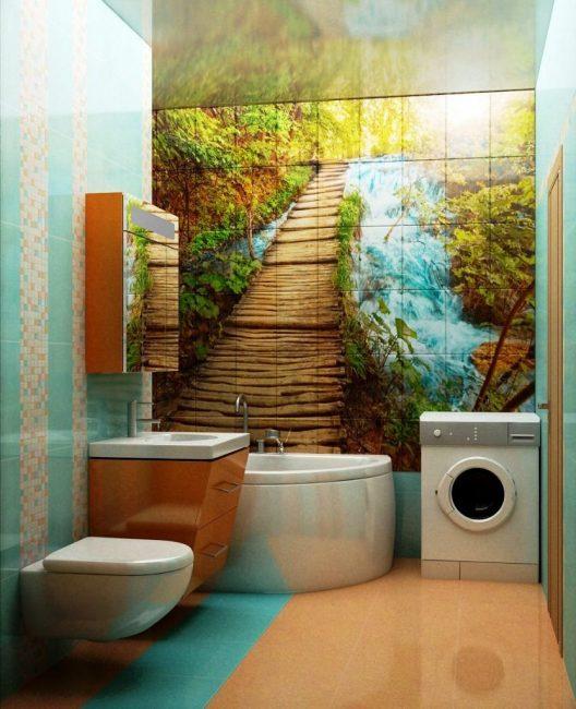 Bir fotoğraf döşemesi ile en sulu ve parlak renklerde görüntüler oluşturabilirsiniz.
