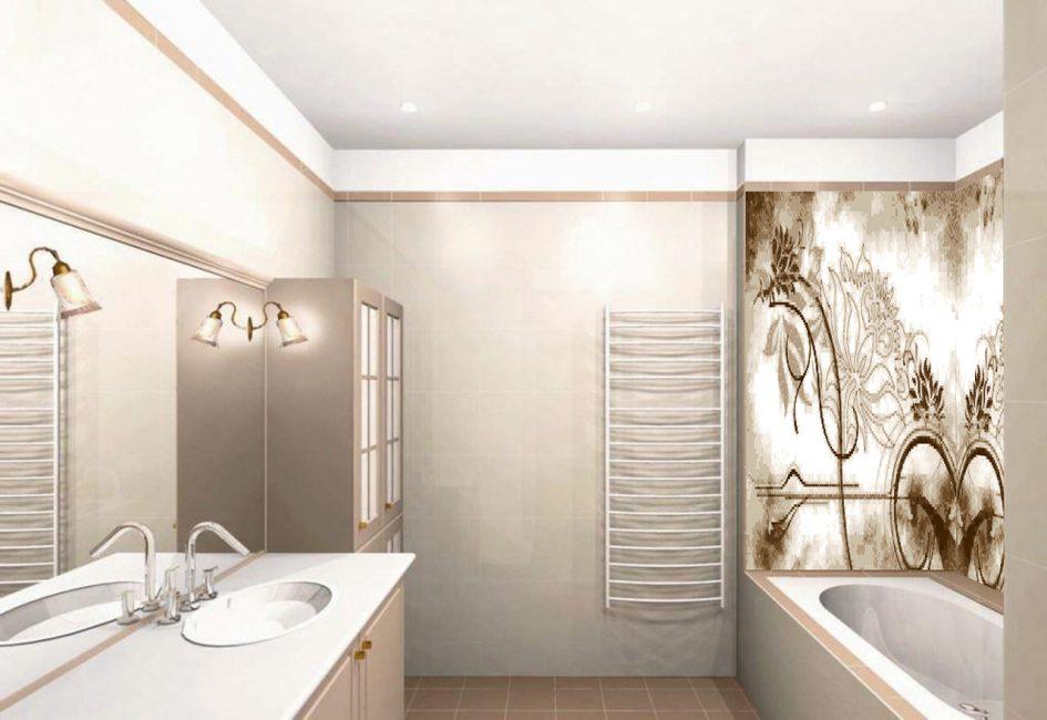 Bir döşeme deseni yardımıyla oda etkili bir şekilde dönüştürülebilir.