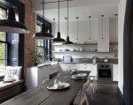 Mutfak için tasarım masaları - 165+ (Fotoğraf) İstediğiniz seçenekler