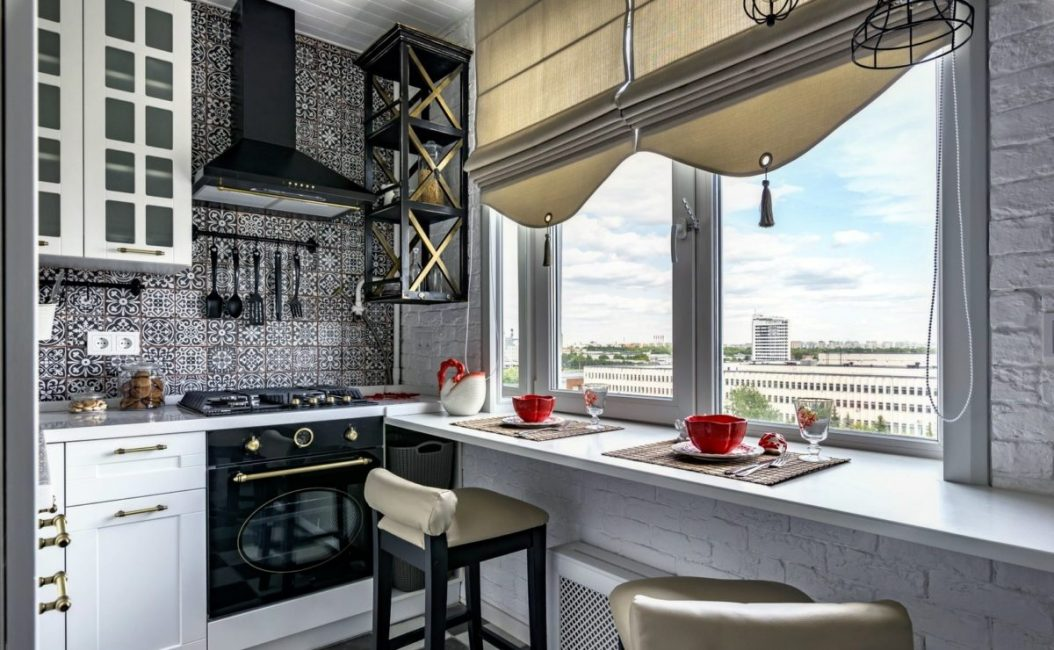Menjimatkan ruang di dapur