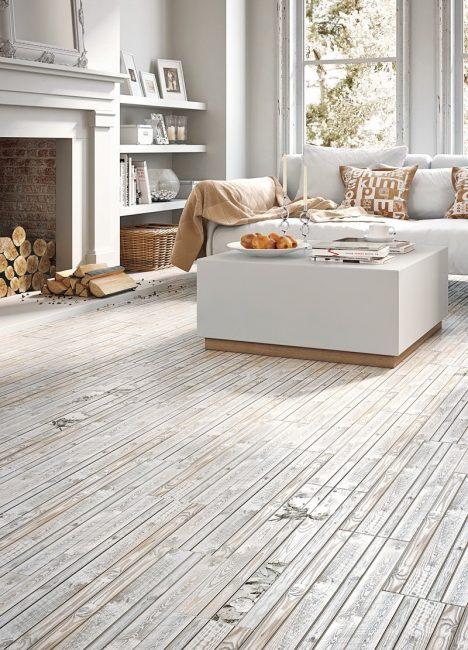 Warna ini akan menjadikan ruang tamu hangat dan selesa.