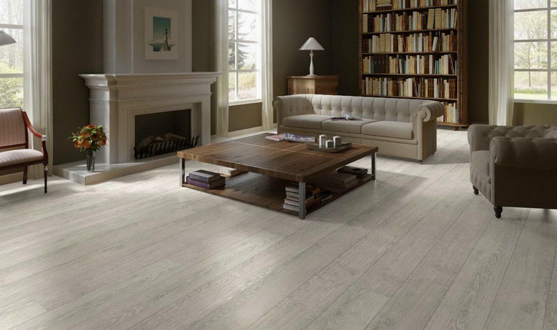 Lantai kayu yang dilaminasi