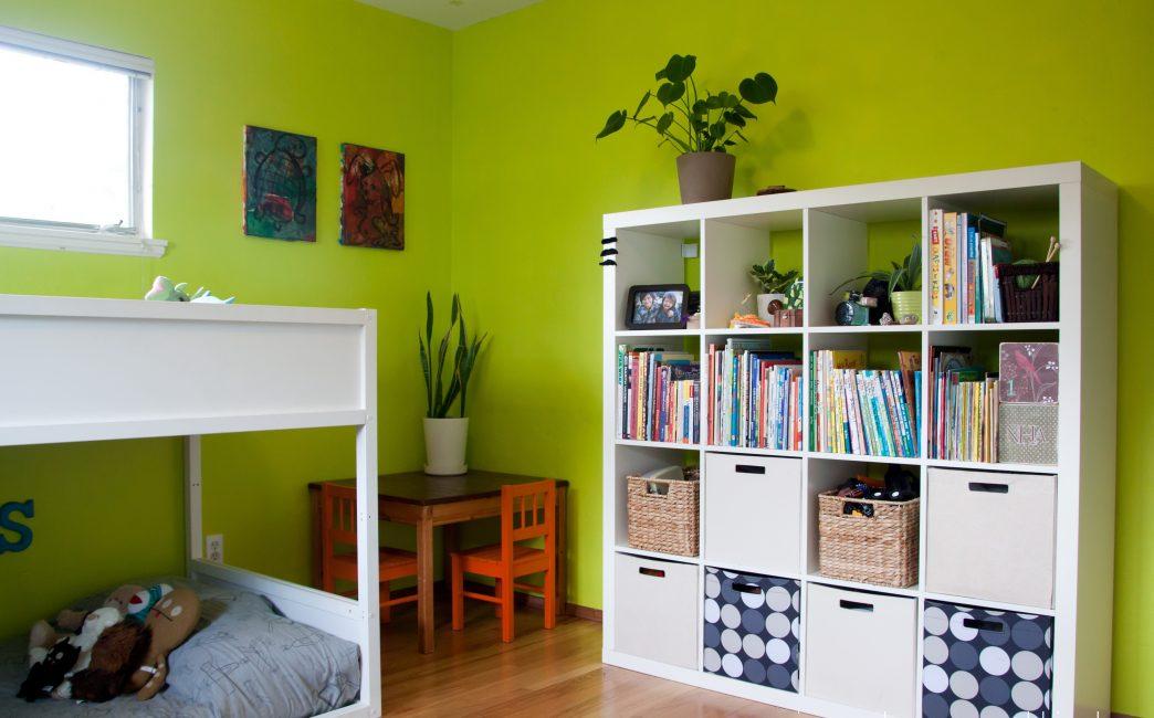 Yeşil, uyum ve sükunet ile ilgili doğal bir renktir.