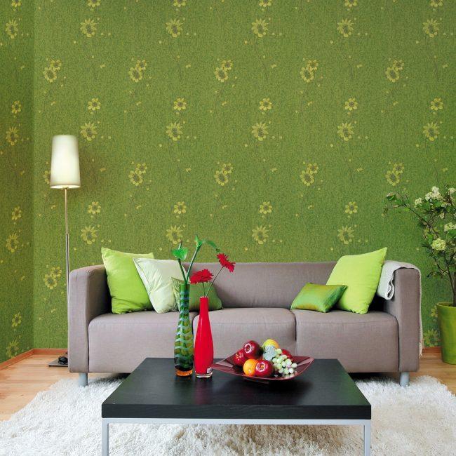 Koyu yeşil duvar kağıtları konsantrasyon yardımcı olur