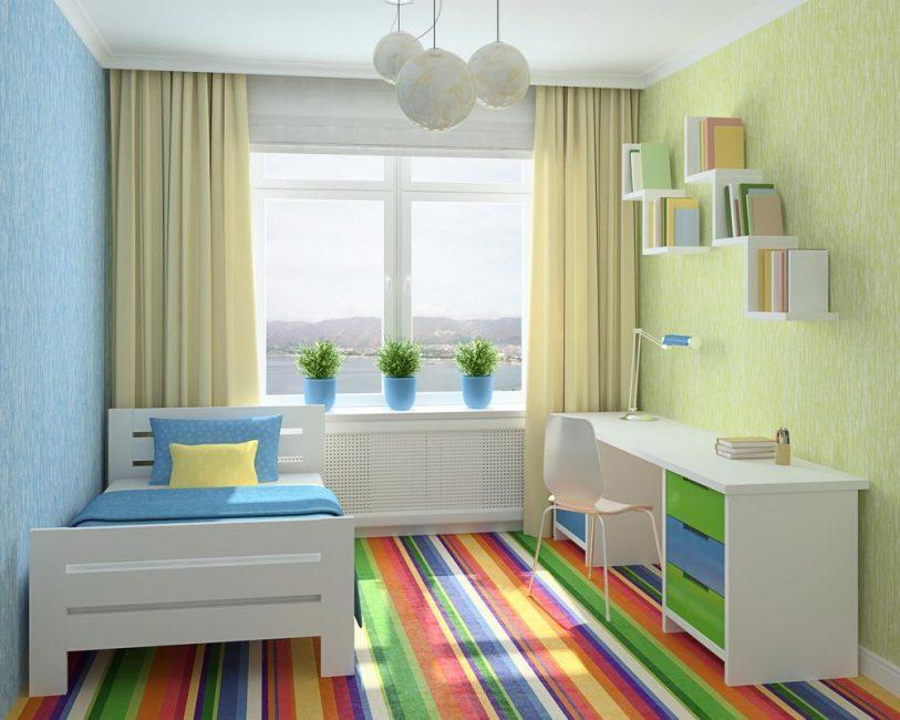 Çocuk odasının tasarımı çocuğun yaşına bağlıdır.