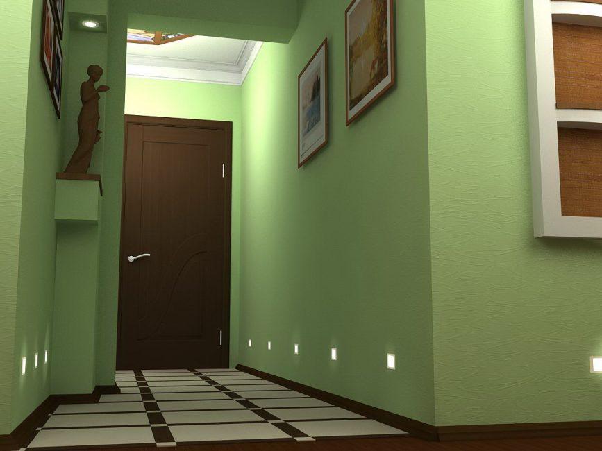 Koridorun iç kısmında