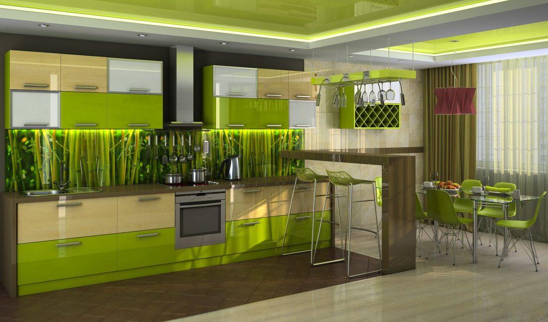 Gölge seçimi mutfağın yerini etkiler