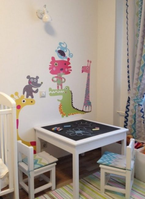 Keupayaan untuk menarik dengan krayon - mengembangkan imaginasi anak-anak