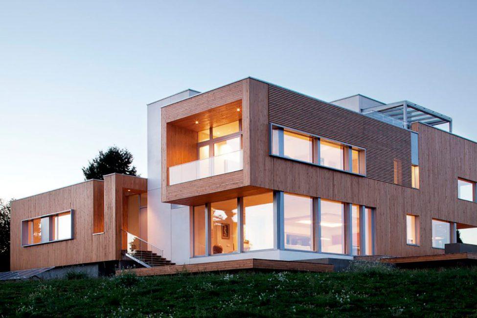 Modern bir tarzda güzel ev