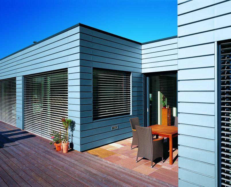 Yatay ürünler evi daha düşük ve görünüşte daha geniş hale getirecek.