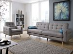 Katil sofa Lurus dan sempit moden dengan kawasan tidur dari A hingga Z (175+ Foto di dapur dan di ruang tamu)