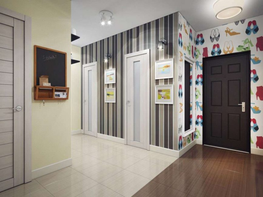 Kertas dinding terang untuk reka bentuk yang menyeronokkan.