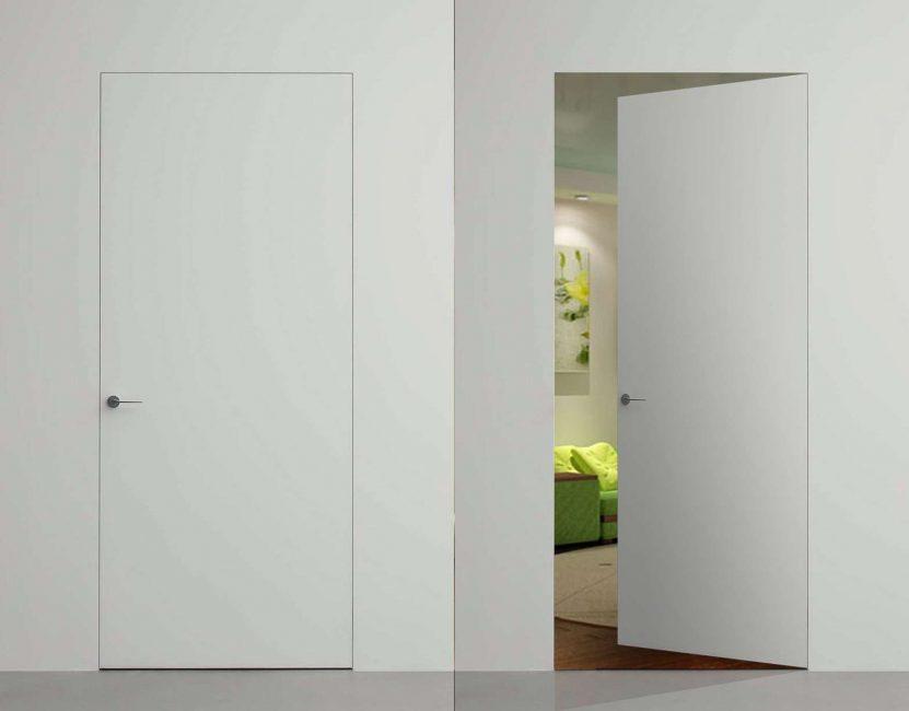 Pintu tak kelihatan. Adakah anda melihatnya?